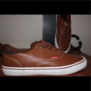 New Levi's leather shoes
